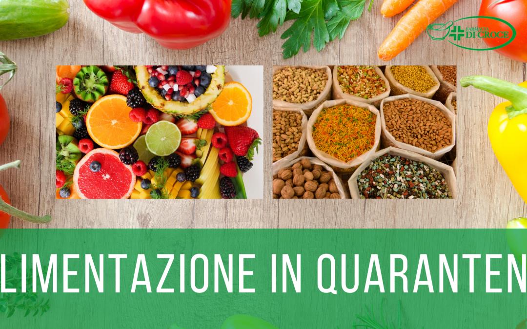 Alimentazione in quarantena: equilibrio tra restare in forma e rafforzare il sistema immunitario.