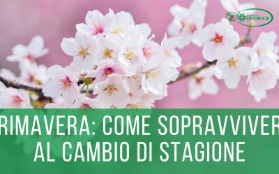 """STANCHEZZA PRIMAVERILE: COME """"SOPRAVVIVERE"""" AL CAMBIO DI STAGIONE"""
